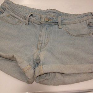 36W H&M Low Waist 36 Denim Rolled Hem Short-Shorts